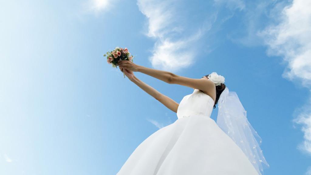 مراسم پرتاب دسته گل عروس