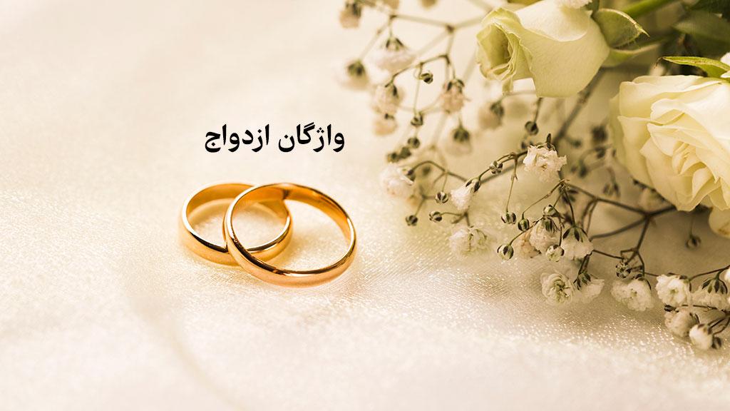 واژگان ازدواج