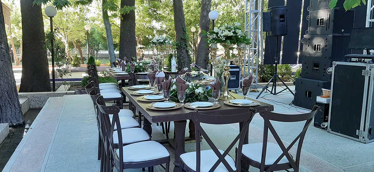 بهترین باغ تالار عروسی شیراز